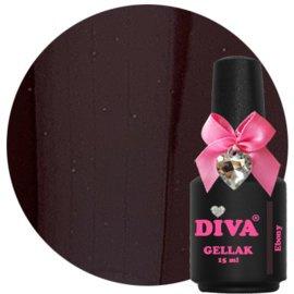 Diva Gellak Ebony 15 ml
