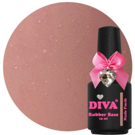 Diva Rubberbase Nude Peach 15ml