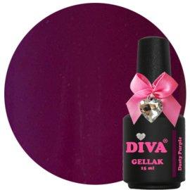 Diva Gellak Dusty Purple 15 ml
