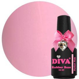Diva Rubberbase Perfect  Pink 15ml