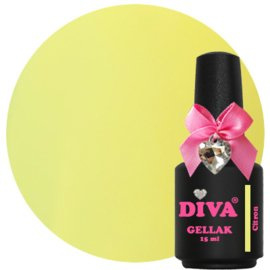 Diva Gellak French Pastel Citron 15 ml