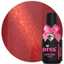 Diva Gellak Cat Eye Red Tango 15 ml