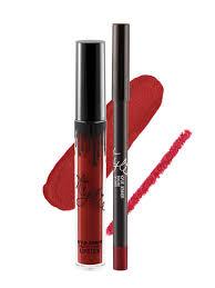 Liquid lipstick & liner Matte - Boujee