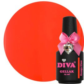 Diva Gellak Orange Gloss 15 ml