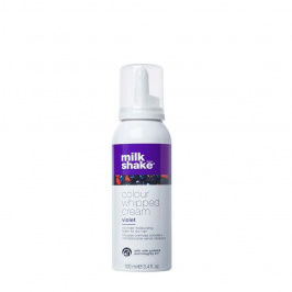 Colour whipped cream - Violet