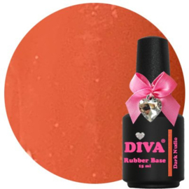 Diva Rubberbase Dark Nudie 15ml