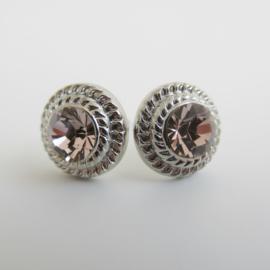 Zilverkleurige rose knopje