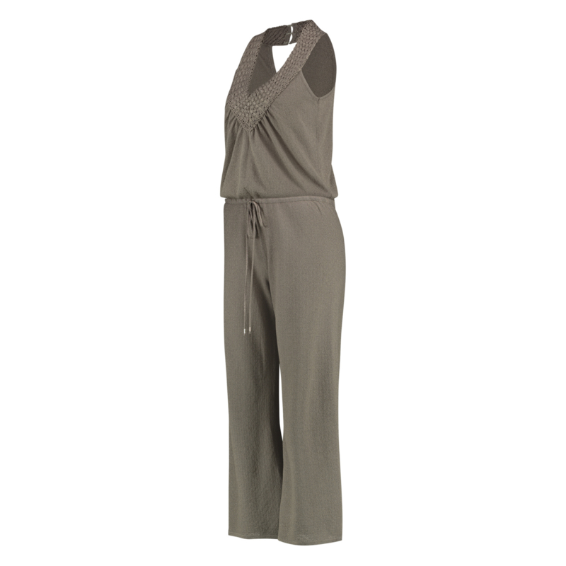 Pampelone Jumpsuit Taupe