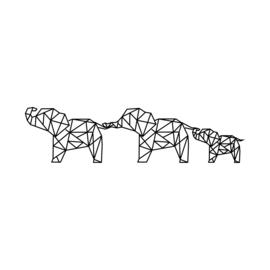 Combi - 2 grote olifanten & 1 kleine olifant