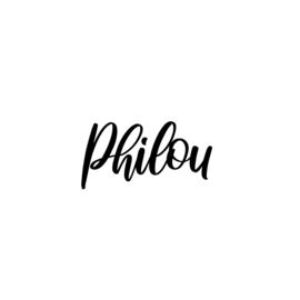 Meerdere kleuren: lettertype Philou