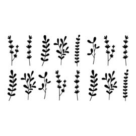 Botanisch: Blaadjes mix