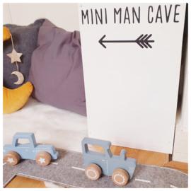Sticker mini man cave