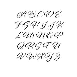 Meerdere kleuren: lettertype Emma