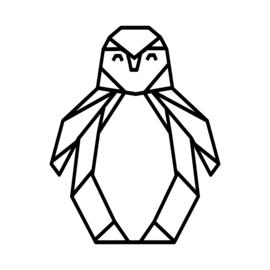 Meerdere kleuren: Pinguin (38 cm)