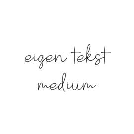 eigen tekst - lettertype Olivier - MEDIUM