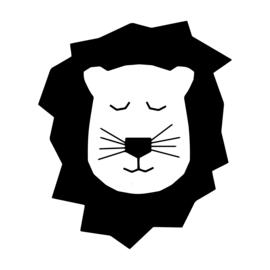 Leeuwenhoofd (26 bij 30 cm)