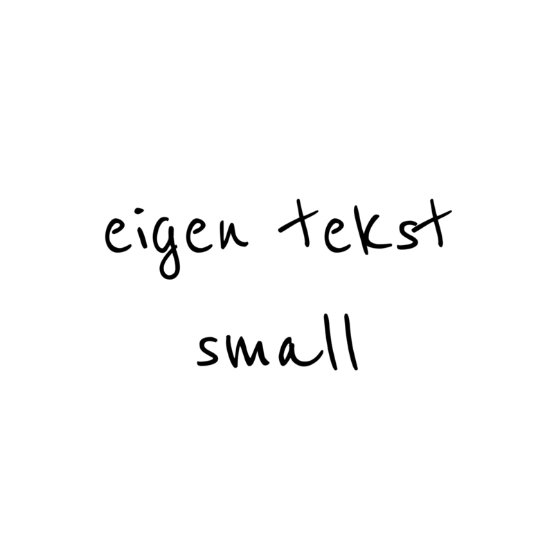 eigen tekst - lettertype Boris - SMALL