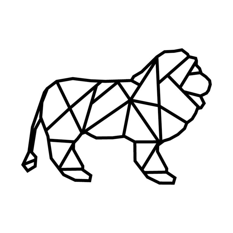 Meerdere kleuren: Leeuw ( 28 cm hoog)