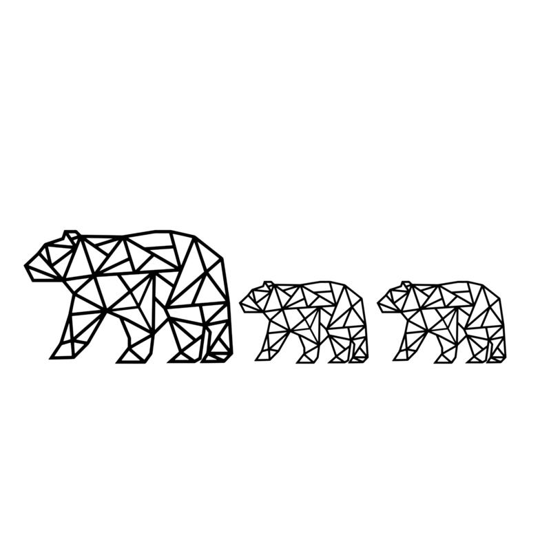 Meerdere kleuren: Combinatie 3 beren
