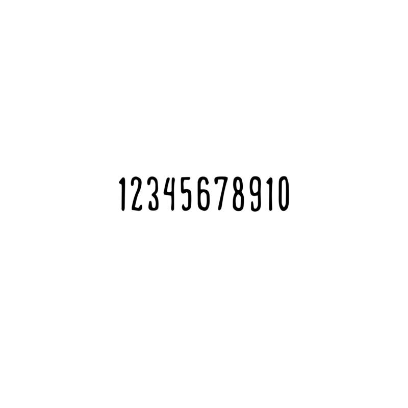 Cijfers (1-10)