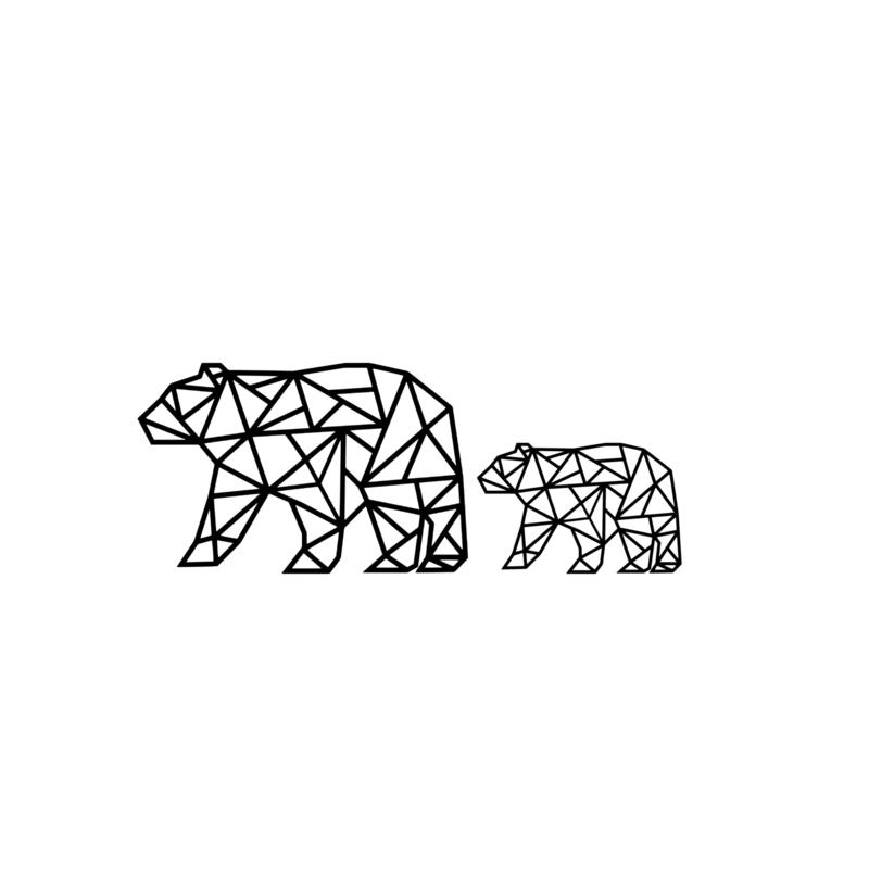 Meerdere kleuren: Combinatie 2 beren
