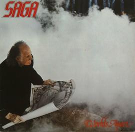 Saga - Worlds Apart LP