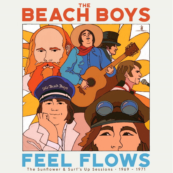 Beach Boys - Feel Flows 2 CD Release 27-8-2021