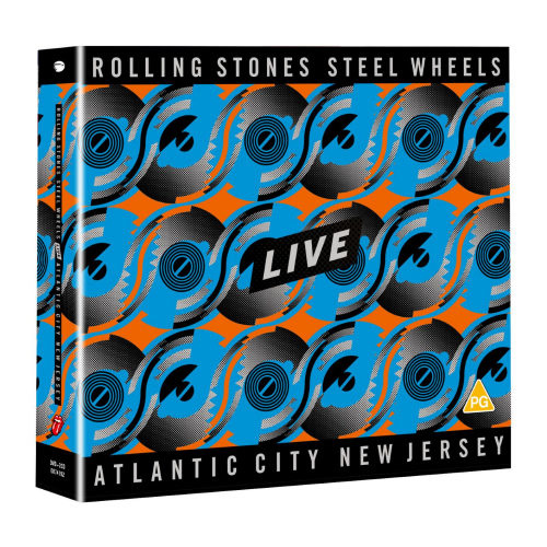 Rolling Stones - Steel Wheels Live 2 CD + DVD Release 25-9-2020