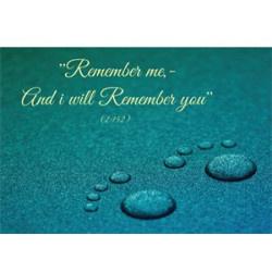 Kaart remember me