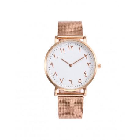 Arabisch horloge rose gold
