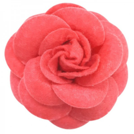 Urban Hippies corsage haarclip pink sorbet