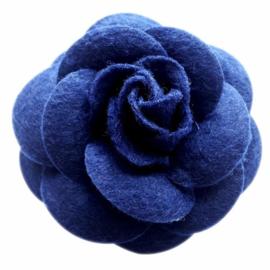 urban Hippies corsage haarclip dark bleu