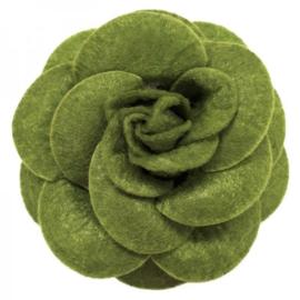 Urban Hippies corsage haarclip turtle green