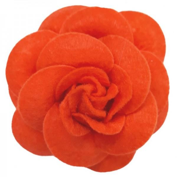 Urban Hippies corsage haarclip red orange