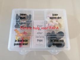 Doos eerste hulp voor PAPA/OPA
