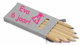 Mini potloden in doos