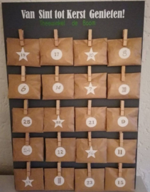 Adventskalender hout