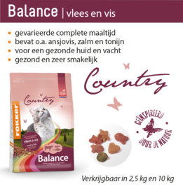 Country Balance Vlees & Vis