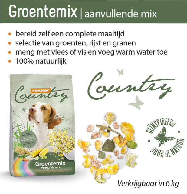 Country Groentemix