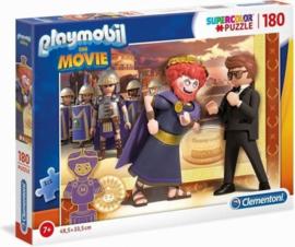 Playmobil the movie - puzzel 180 stukjes - Clementoni