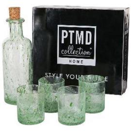 PTMD Fles met Glazen