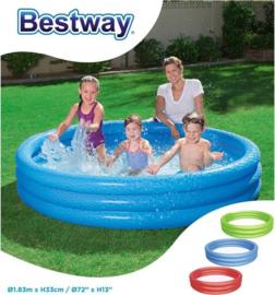 Bestway Zwembad 3-rings (183x33cm)
