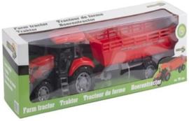 Tractor met aanhanger 70 CM