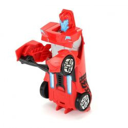 Masinuta Transformers Sideswipe Robot Warrior Dickie toys Rosu