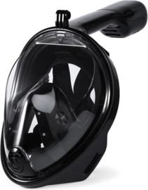 Duikmasker Full Face Black Duikbril Zwart L / XL