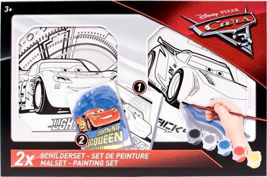 Slammer Disney Cars 3 Schilderset 7-delig