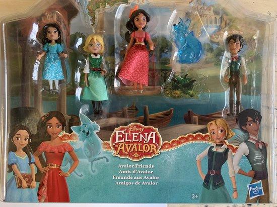 Disney Elena of Avalor Friends 5 figuren set - 6 cm groot