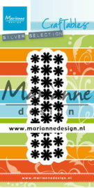 Marianne design Craftable Punch die madeliefjes CR1501