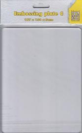 APC002Transparent plate 197x150x5mm  (Plate-C)
