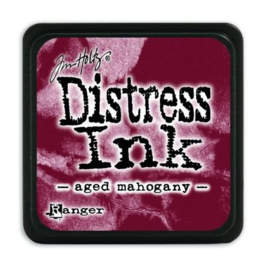 Ranger Distress Mini Ink pad - aged mahogany TDP39839 Tim Holtz